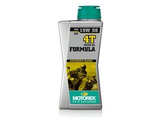 MOTOREX OIL FORMULA 4T(15W-50) 1リットル