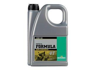 MOTOREX OIL FORMULA 4T(15W-50) 4リットル