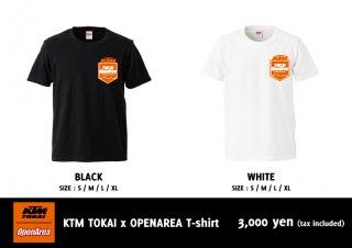KTM TOKAI x OPENAREA T-shirt