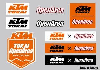 KTM-TOKAI オリジナルステッカーシート