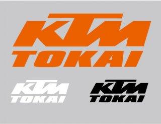 KTM-TOKAI ロゴカッティングステッカー25cm