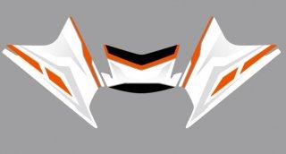 KTM-TOKAI オリジナルデカール for RC -WHITE