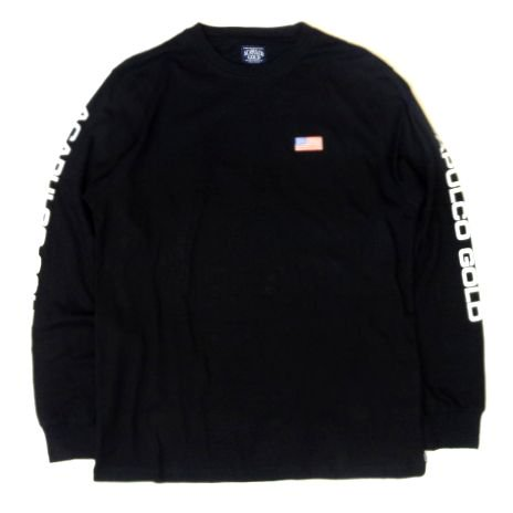 <img class='new_mark_img1' src='https://img.shop-pro.jp/img/new/icons50.gif' style='border:none;display:inline;margin:0px;padding:0px;width:auto;' />ACAPULCO GOLD AG SPORT LONG SLEEVE BLACK