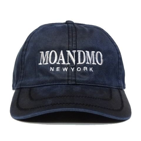 MO'&MO' モーアンドモー Oiled DAD Cap NAVY