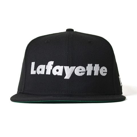 <img class='new_mark_img1' src='//img.shop-pro.jp/img/new/icons50.gif' style='border:none;display:inline;margin:0px;padding:0px;width:auto;' />Lafayette × NEW ERA ラファイエット Lafayette LOGO 9FIFTY SNAPBACK CAP ラファイエットロゴ9フィフティースナップバックキャップ BLACK