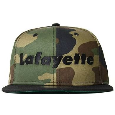 <img class='new_mark_img1' src='https://img.shop-pro.jp/img/new/icons50.gif' style='border:none;display:inline;margin:0px;padding:0px;width:auto;' />Lafayette × NEW ERA ラファイエット Lafayette LOGO 9FIFTY SNAPBACK CAP ロゴ9フィフティースナップバックキャップ WOODLAND CAMO