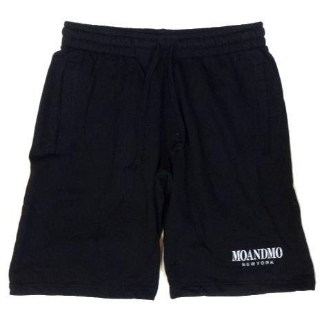 <img class='new_mark_img1' src='https://img.shop-pro.jp/img/new/icons50.gif' style='border:none;display:inline;margin:0px;padding:0px;width:auto;' />MO'&MO' モーアンドモー Athletic sweat shorts アスレチックスウェットショーツ BLACK
