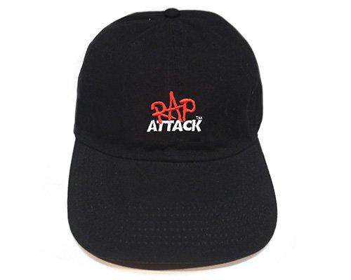 <img class='new_mark_img1' src='https://img.shop-pro.jp/img/new/icons50.gif' style='border:none;display:inline;margin:0px;padding:0px;width:auto;' />RAP ATTACK ラップアタック Rap Attack Low Profile Cap ラップアタックロープロファイルキャップ BLACK