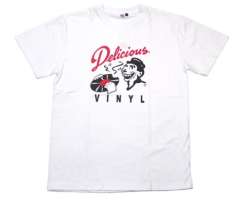 <img class='new_mark_img1' src='//img.shop-pro.jp/img/new/icons15.gif' style='border:none;display:inline;margin:0px;padding:0px;width:auto;' />RAP ATTACK Delicious Vinyl × Rap Attack Tee WHITE