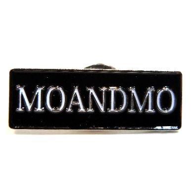 MO'&MO' モーアンドモー MOANDMO PIN モーアンドモーピン BLACK x WHITE x SILVER