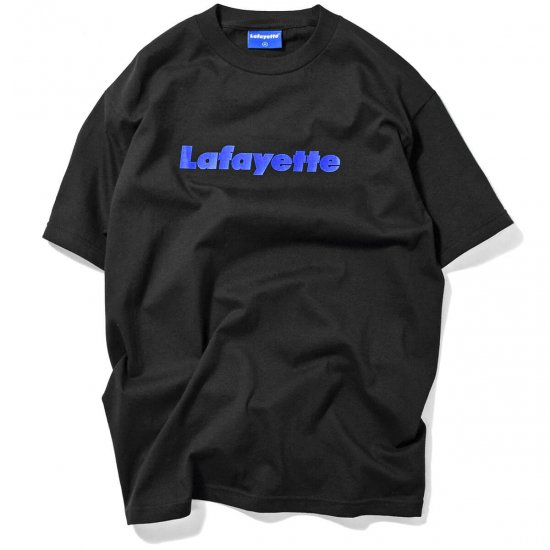 <img class='new_mark_img1' src='//img.shop-pro.jp/img/new/icons15.gif' style='border:none;display:inline;margin:0px;padding:0px;width:auto;' />Lafayette ラファイエット Lafayette LOGO TEE 15TH ANNIVERSARY EDITION ラファイエットロゴティー15thアニバーサリーエディション BLACK