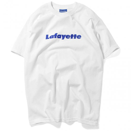 <img class='new_mark_img1' src='//img.shop-pro.jp/img/new/icons15.gif' style='border:none;display:inline;margin:0px;padding:0px;width:auto;' />Lafayette ラファイエット Lafayette LOGO TEE 15TH ANNIVERSARY EDITION ラファイエットロゴティー15thアニバーサリーエディション WHITE