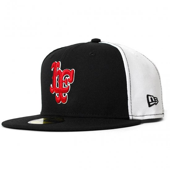 <img class='new_mark_img1' src='https://img.shop-pro.jp/img/new/icons50.gif' style='border:none;display:inline;margin:0px;padding:0px;width:auto;' />Lafayette × NEW ERA ラファイエットxニューエラ LF LOGO 2TONE 59FIFTY FITTED CAP エルエフロゴツートーンキャップ BLACK