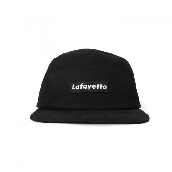 <img class='new_mark_img1' src='https://img.shop-pro.jp/img/new/icons50.gif' style='border:none;display:inline;margin:0px;padding:0px;width:auto;' />Lafayette ラファイエット LOGO JET CAP ロゴジェットキャップ BLACK