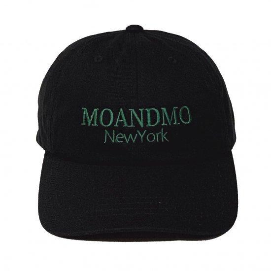 MO'&MO' モーアンドモー CLASSIC DAD CAP 2020 クラシックダッドキャップ2020 BLACK x GREEN