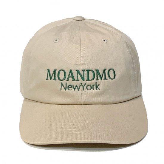 MO'&MO' モーアンドモー CLASSIC DAD CAP 2020 クラシックダッドキャップ2020 STONE x GREEN