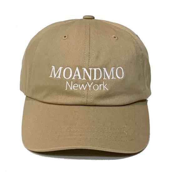 MO'&MO' モーアンドモー CLASSIC DAD CAP 2020 クラシックダッドキャップ2020 KHAKI x WHITE
