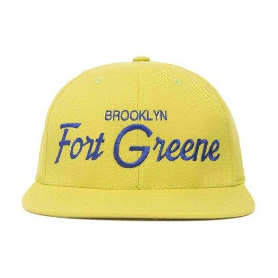 HOOD HAT フッドハット FORT GREEN フォートグリーン LIME/ROYAL