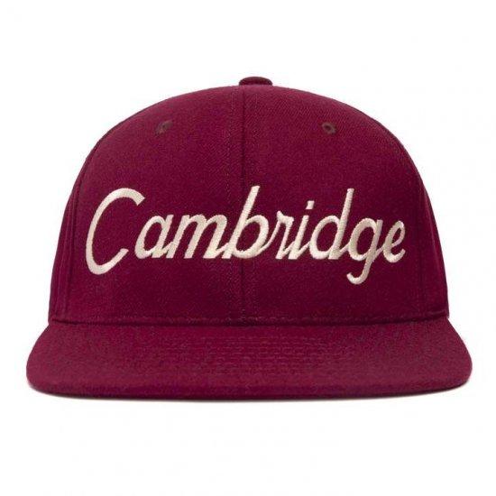 HOOD HAT フッドハット CAMBRIDGE ケンブリッジ OXBLOOD/IVORY