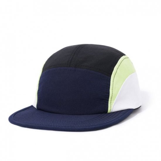 BUTTER GOODS バターグッズ CRESENT CAMP CAP クレセントキャンプキャップ NAVY LIME WHITE