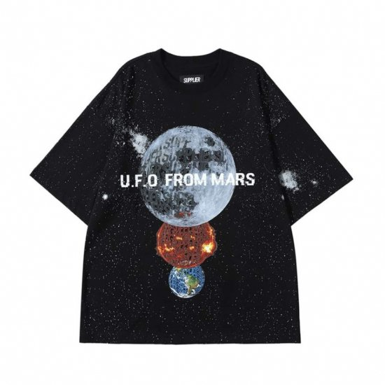 <img class='new_mark_img1' src='https://img.shop-pro.jp/img/new/icons50.gif' style='border:none;display:inline;margin:0px;padding:0px;width:auto;' />SUPPLIER サプライヤー GALAXY TEE ギャラクシーティー BLACK