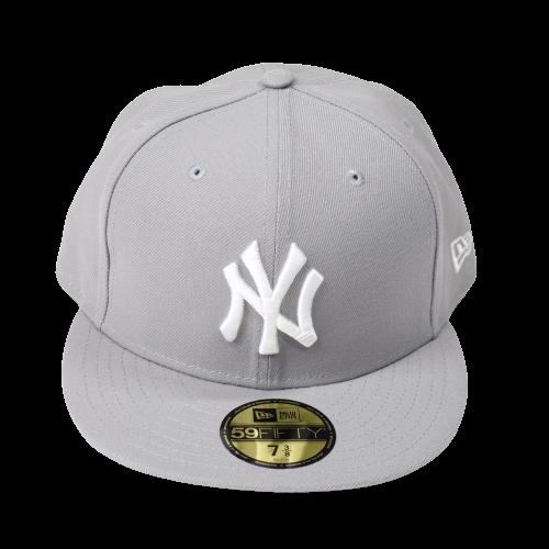 <img class='new_mark_img1' src='https://img.shop-pro.jp/img/new/icons15.gif' style='border:none;display:inline;margin:0px;padding:0px;width:auto;' />NEW ERA ニューエラ 5950 NEW YORK YANKEES CAP ニューヨークヤンキース GRAY