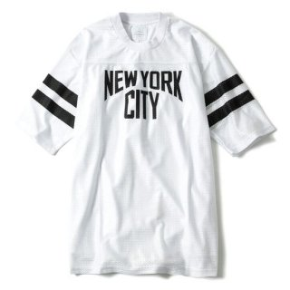 <img class='new_mark_img1' src='//img.shop-pro.jp/img/new/icons50.gif' style='border:none;display:inline;margin:0px;padding:0px;width:auto;' />68&BROTHERS×VICTIM Football Mesh Tee