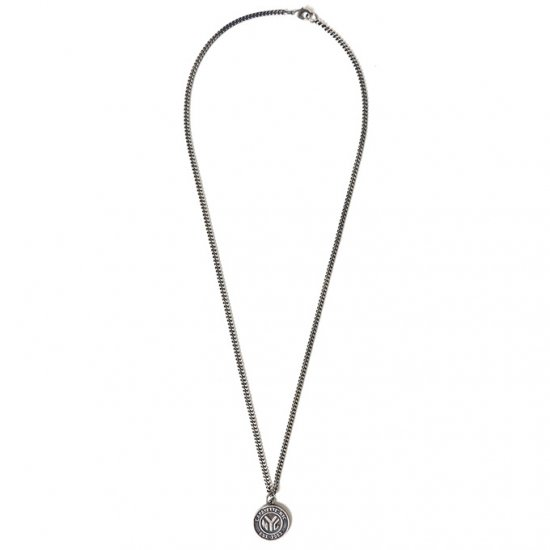 <img class='new_mark_img1' src='https://img.shop-pro.jp/img/new/icons50.gif' style='border:none;display:inline;margin:0px;padding:0px;width:auto;' />Lafayette×HOW WE DO TOKEN NECKLACE SILVER