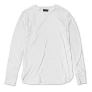 Long Length Round Tee/WH