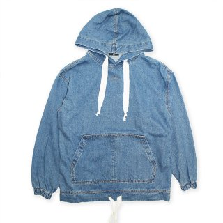 <img class='new_mark_img1' src='//img.shop-pro.jp/img/new/icons8.gif' style='border:none;display:inline;margin:0px;padding:0px;width:auto;' />Denim Hoodie