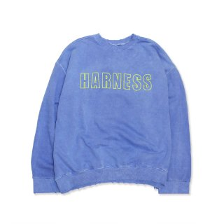 Logo Trashed Sweat Shirts/BLU