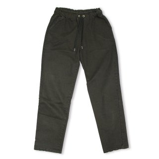 Washed Ankle Pants_BLAK