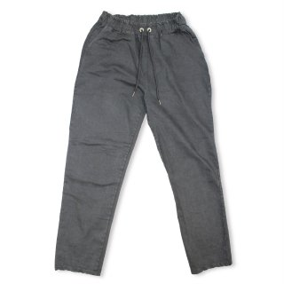Washed Ankle Pants_GRAY