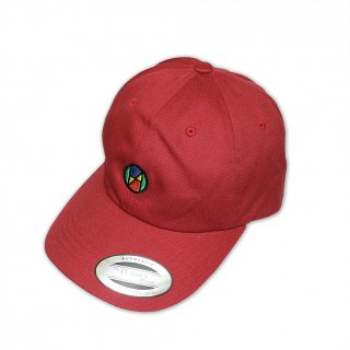 Logo Quattrocolor Ball Cap_DEEP RED