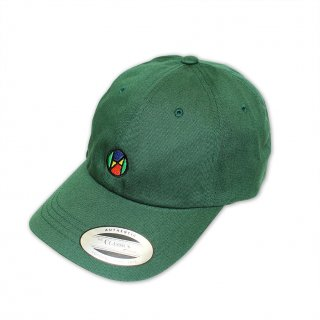 Logo Quattrocolor Ball Cap_DEEP GREEN