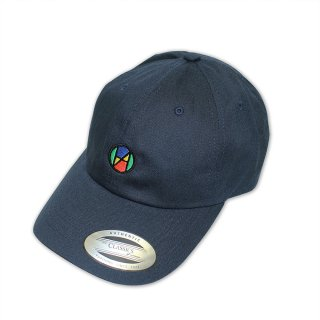 Logo Quattro Color Ball Cap_NAVY