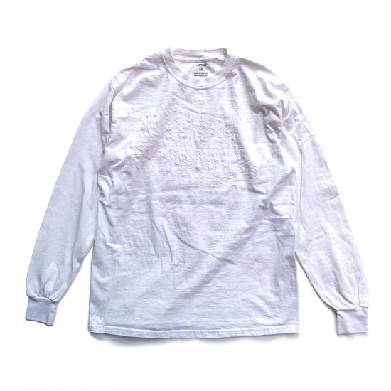 LS TEE / AN01 / Tier1-Water Repellent Finish / White