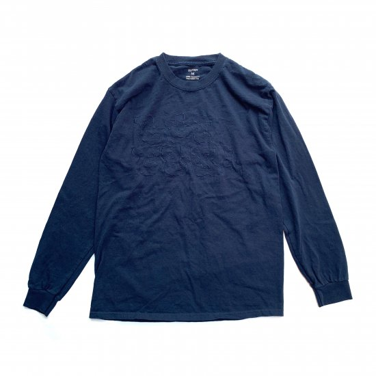 LS TEE / AN01 / Tier1-Water Repellent Finish / Navy