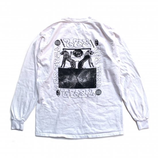 LS TEE / AN02 / White / 撥水加工なし