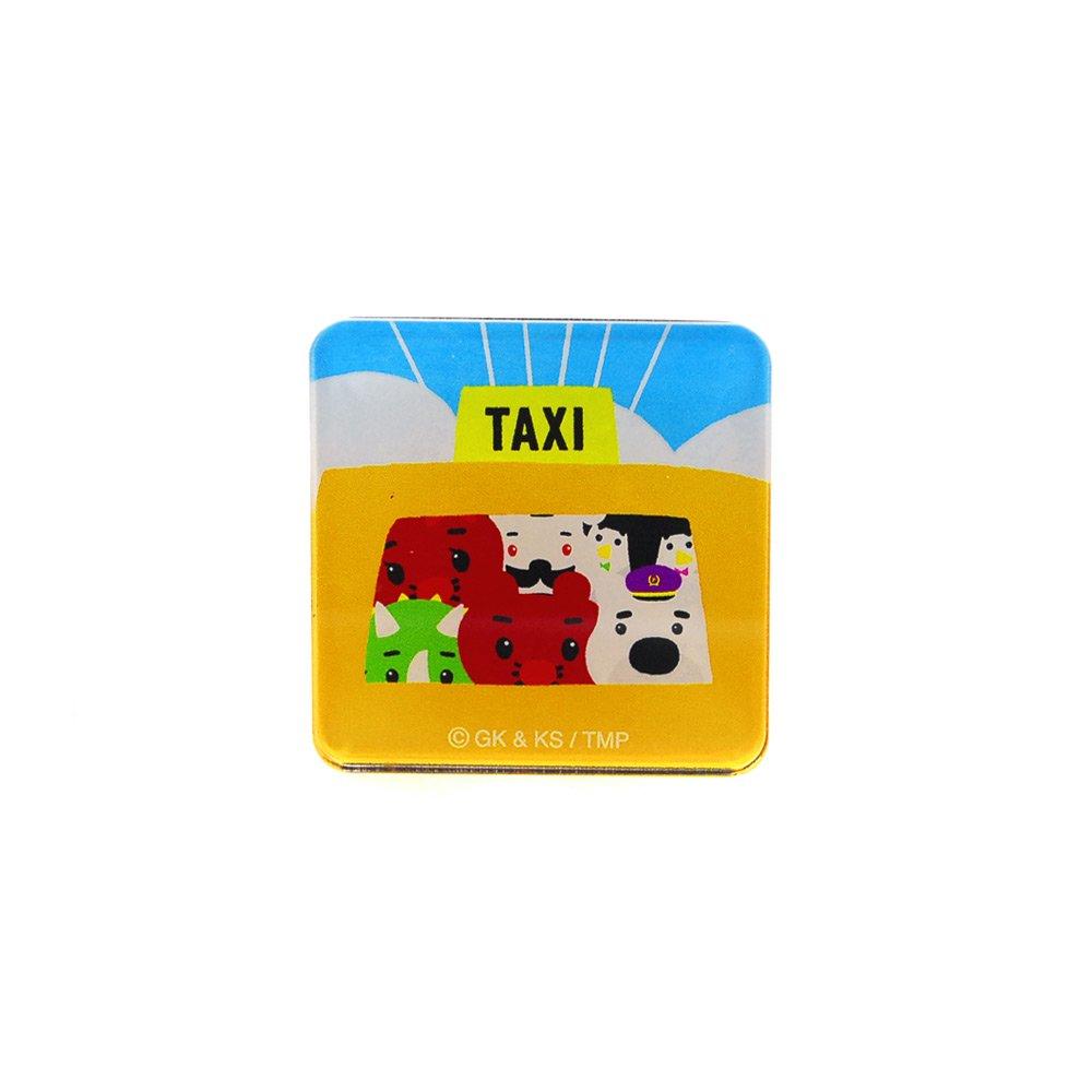 ステッカー付アクリルマグネット(みんなでタクシー) FT06 TN