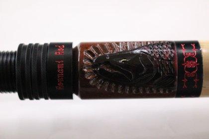 Honnami Rod 822M 紫檀/婚姻色サクラマス彫り