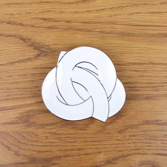 プラチナ線結び 小皿