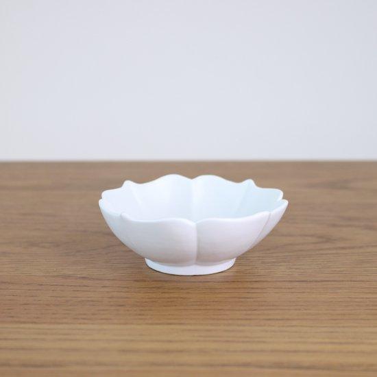 桔梗渕小鉢 白マット