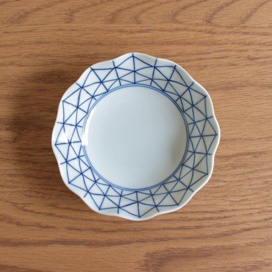 深皿(小)菱地紋
