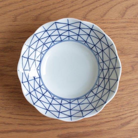 深皿(大)菱地紋