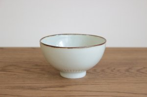 しのぎ飯碗 古代釉