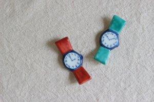 腕時計箸置き(全2色)
