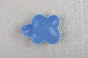 クラウド豆皿 ブルー