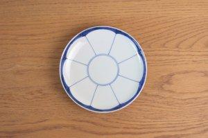 みかん割 六寸皿