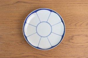 みかん割 七寸皿